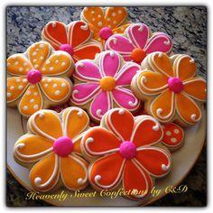 Spring Flower Sugar Cookies