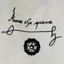 Signature of Queen Anne Boleyn