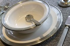 Convivio Dinner Plate By Match Pewter by Dinner Series, via Flickr - when I win the lotto!