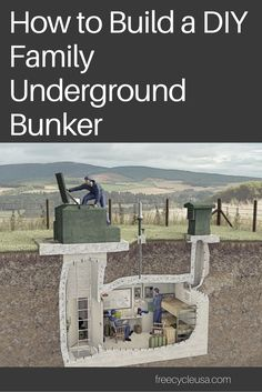 97 best Family Bunker Plans images on Pinterest | Doomsday bunker ...