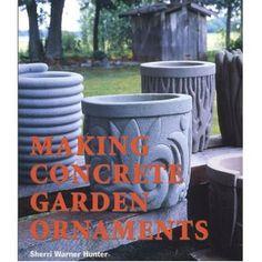 Making Concrete Garden Ornaments