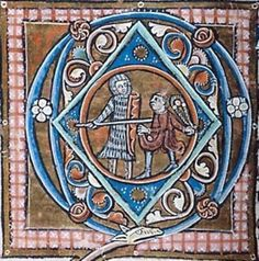 Manuscript Morgan M.313 Psalter-Hymnal Folio 054v Dating 1220-1230 From Paris, Frankreich Holding Institution Morgan Library