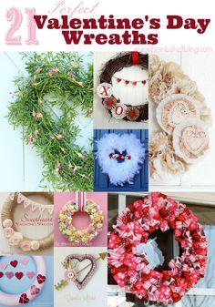 21 Perfect Valentine's Day Wreaths