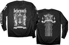 """NEW!!! Official Behemoth """"Satanist Eye Tour""""  Long-sleeve T-Shirt Get it here: http://www.jsrdirect.com/behemoth-satanist-2014-tour-longsleeve"""