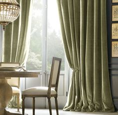 moss colored velvet curtains#Repin By:Pinterest++ for iPad#