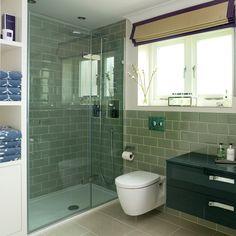 Salle de bain makeover: Avant et après des photos d'une salle de bains design moderne