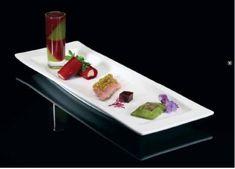 Gerookte eend met vier manieren van biet (bietensoep, tubes, truffelcrème, ravioli, gerookte eend, cannelloni van rode biet) - Wildplaza.com !