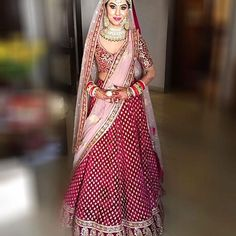 Browse Band Baaja Bride With Sabyasachi for women. Find trending collection of Lehengas, Clutch Bag, Saree, Lehenga. Get the latest updates of Sabyasachi Mukherjee dresses at Happy Shappy. Indian Bridal Outfits, Indian Bridal Lehenga, Indian Bridal Fashion, Indian Bridal Wear, Indian Dresses, Bridal Dresses, Indian Wear, Indian Clothes, Wedding Gowns