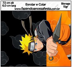 Naruto: Etiquetas para Candy Bar para Imprimir Gratis. Naruto Birthday, 10th Birthday, Naruto Party Ideas, Party Printables, Free Printables, Naruto Free, Table Labels, Dragon Ball, Oh My Fiesta