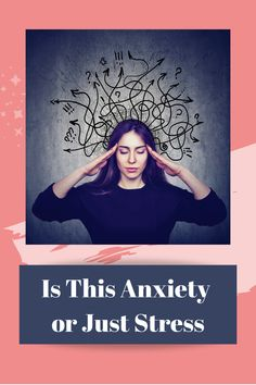 It can be difficult to spot the differences between these two issues because they share many physical symptoms, and have similar/overlapping treatment strategies. Deal With Anxiety, Anxiety Tips, Stress And Anxiety, Mental Health Disorders, Mental Health Conditions, Feeling Dizzy, Deep Breathing Exercises, Generalized Anxiety Disorder, Stress Symptoms