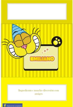 Gaturro - Página web de diseñokitdecumpleaños