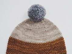 Holly Hat // Knitted Baby Hat with Ear Flaps  by localparitygoods