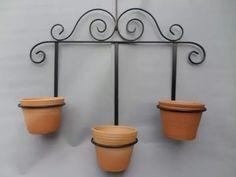 suporte jardim suspenso vasos
