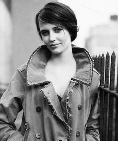 """Eva Green. She has this """"thing"""" that I love: she is beautiful but wild, fierce…"""