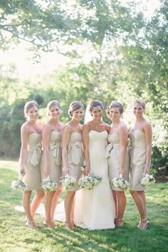 Jenny Yoo Bridesmaids Dresses | On SMP: http://www.StyleMePretty.com/2014/02/04/elegant-newport-estate-wedding/ Jenny Moloney Photography