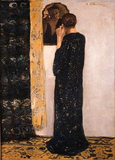 George Hendrik Breitner - The Earring (1896)