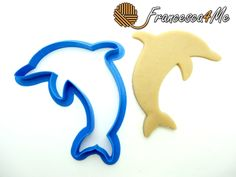 Dolphin Outline Cookie Cutter/Multi-Size by Francesca4me on Etsy