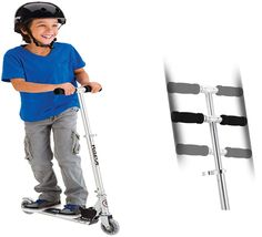 Razor A lightweight Kick Scooter blue from the best in scooters for kids Best Scooter For Kids, Kids Scooter, Kids Ride On Toys, 12 Year Old Boy, Old Boys, Scooters, Cool Kids, Boy Or Girl, Kicks