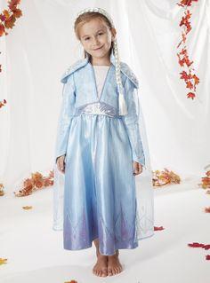 License & Character Shop Disney Frozen 2 Elsa Blue Costume (2-10 years) | Tu clothing