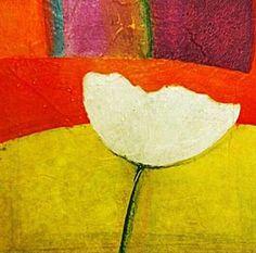 """Modern Tulip"" by bessesdotter Tulips, Paintings, Studio, Modern, Flowers, Art, Art Background, Trendy Tree, Painting Art"