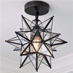 Moravian Star Ceiling Light