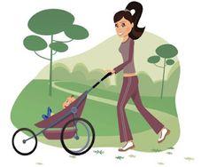 Moms on the Run!  A list of inspiring running mom blogs.
