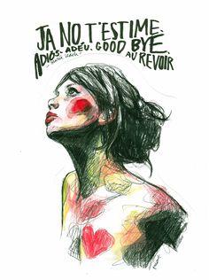 Paula Bonet fashion illustration