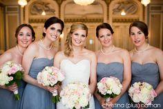 Bridal Party in Crystal Ballroom, Calgary. Wedding Photography Pricing, Wedding Photography Packages, Bridesmaid Dresses, Wedding Dresses, Hotel Wedding, Calgary, Crystal, Bridal, Party