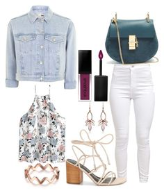 """""""Untitled #1689"""" by social-outcast-16 on Polyvore featuring Topshop, Rebecca Minkoff, Smashbox and Chloé"""