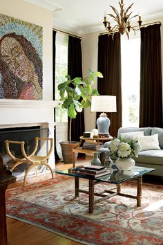 Check Out 20 Inspiring Traditional Living Room Designs. Take note that something common in traditional living rooms are the use of wooden flooring, whether or not they are real wood or engineered Living Room Sets, Living Room Modern, Home Living Room, Living Room Designs, Small Living, Living Room Decor Traditional, Traditional Furniture, Traditional Decor, Traditional Kitchens