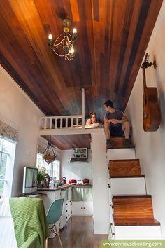 Tiny House par DIY House Building   Tiny House France