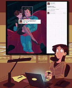 Lois Lane on Facebook