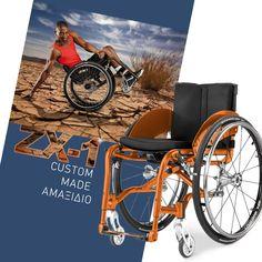 ♿ Για ενεργητικούς χρήστες ♿ Ένα active αμαξίδιο που κατασκευάζεται με βάση τις μετρήσεις του σώματος και τις ανάγκες του κάθε χρήστη. Το ZX-1 έχει ανθεκτικό, πτυσσόμενο σκελετό και είναι ιδανικό για όλες τις καθημερινές δραστηριότητες ενός δραστήριου χρήστη. Motorcycle, Vehicles, Motorcycles, Car, Motorbikes, Choppers, Vehicle, Tools