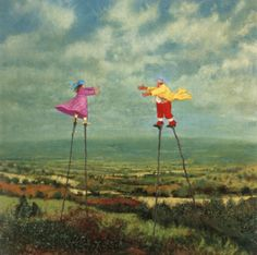Stilt Walkers – Simon Garden