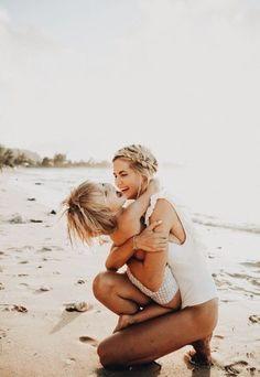 Mother's Day Weekend - Barefoot Blonde by Amber Fillerup Clark Beach Photography, Children Photography, Family Photography, Baby Beach Photos, Beach Pictures, Family Pictures, Beach Mom, Mother Daughter Photography, Mothers Day Weekend