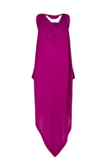 Vivienne Westwood Anglomania exclusive deep fuchsia resurrection dress