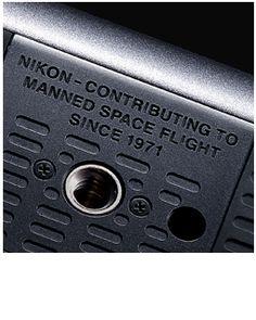 Engraved bottom of camera body
