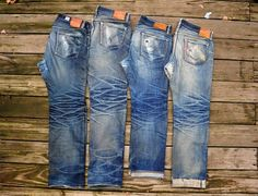 6 Years of Raw Denim L to R: Eternal / Samurai / RRL / Warehouse From soonami at imgur.com ⓀⒾⓃⒼⓈⓉⓊⒹⒾⓄⓌⓄⓇⓀⓈ ★★★★★★★★★★★★★★★