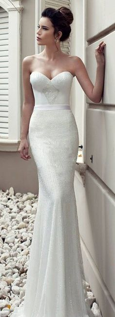 Julie Vino Bridal Collection 2013 - definitely want my wedding gown to have this silhouette! and a satin belt across the middle