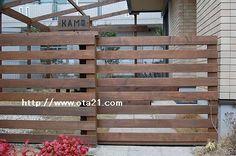 木製スライドゲート - デッキ工房オオタの仕事