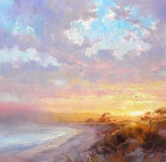 Online Painting Workshop 26 : Mastering Sunsets 2 of 4.