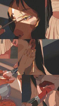 Cartoon Kunst, Anime Kunst, Cartoon Art, Aesthetic Pastel Wallpaper, Aesthetic Wallpapers, Aesthetic Art, Aesthetic Anime, Japanese Aesthetic, Art And Illustration