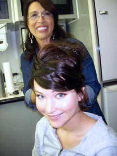 Jennifer becoming Katniss - the-hunger-games Photo