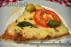 O domingo tem de terminar com Pizza de Tapioca Marguerita! É #SemGlúten, rápida, fácil e deliciosa! #Receita aqui: http://www.gulosoesaudavel.com.br/2012/04/12/pizza-tapioca-marguerita/