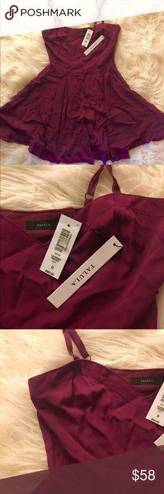 NWT Aritzia Talula Skater Dress 0 $158 Aritzia Talula Skater Dress  Condition: New with tags Color: Dark purple Size: US 0 Retail Price US$158 Aritzia Dresses Mini