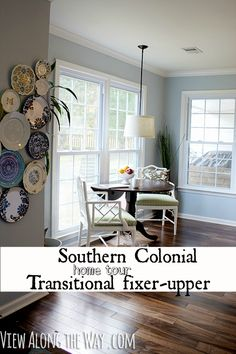 Total #fixer upper #Transitional #home. What a fabulous job they did. Lots of great ideas.