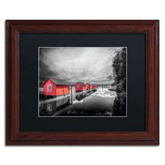 'Timber Booms' by Erik Brede Framed Photographic Print