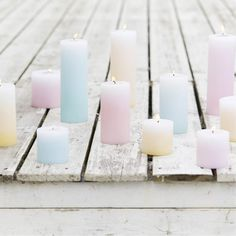 Pastel | Pastello | 淡色の | пастельный | Color | Texture | Pattern | Composition | Candle Light