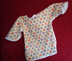 Children's waterproof butterfly apron will fit child size 3 to size 7 by GeeGeeGoGo on Etsy