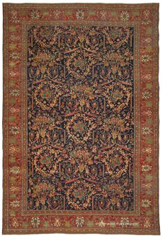SULTANABAD, West Central Persian 11ft 5in x 16ft 9in 3rd Quarter, 19th Century http://www.claremontrug.com/antique-oriental-rugs-carpets/antique-rugs-SULTANABAD%2c+West+Central+Persian-2735?